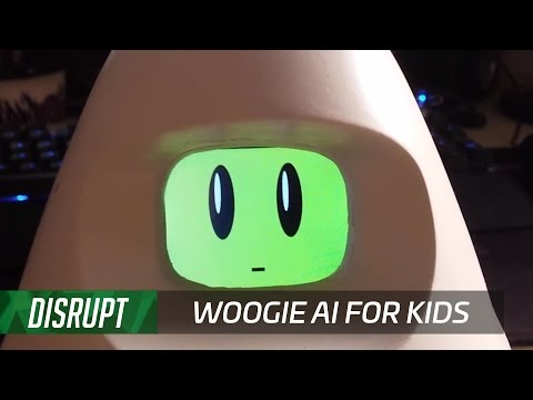 Woogie is an adorable alien AI that teaches kids