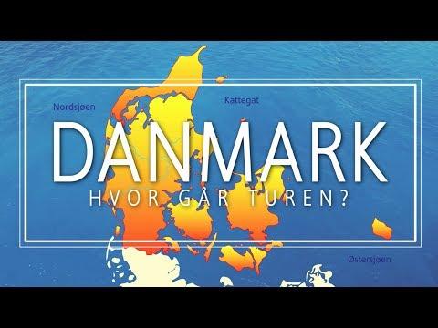 Inspirasjon til ferie i Danmark