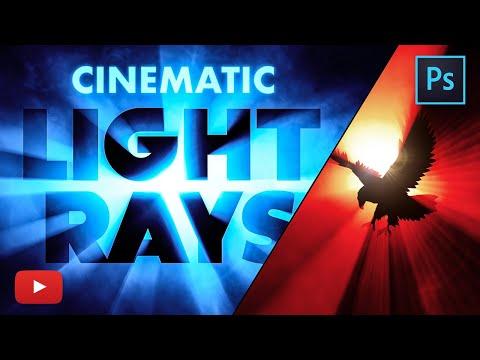 Create Cinematic Light Rays in Adobe Photoshop!