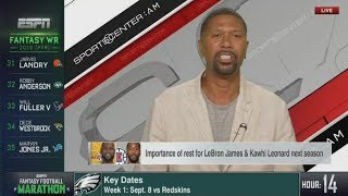 Jalen Rose talks about Importance of rest for LeBron Jame & Kawhi Leonard next season