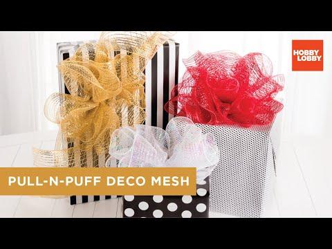 Pull-N-Puff Deco Mesh | Hobby Lobby®