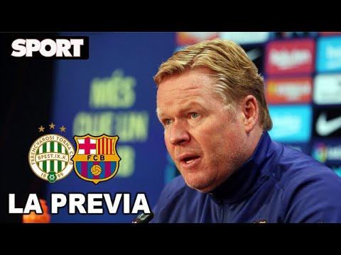 RUEDA DE PRENSA de KOEMAN🎙PREVIA FERENCVAROS – FC BARCELONA: «UMTITI PROBARÁ CON EL FILIAL»