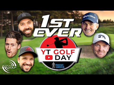 FIRST Ever YOUTUBE Golf Day | ME AND MY GOLF
