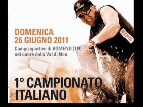 STIHL® TIMBERSPORTS® Series  1° Campionato Italiano
