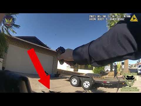 Phoenix Officers Respond To Restraining Order Violation