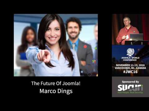 JWC 2016 - The Future of Joomla - Marco Dings