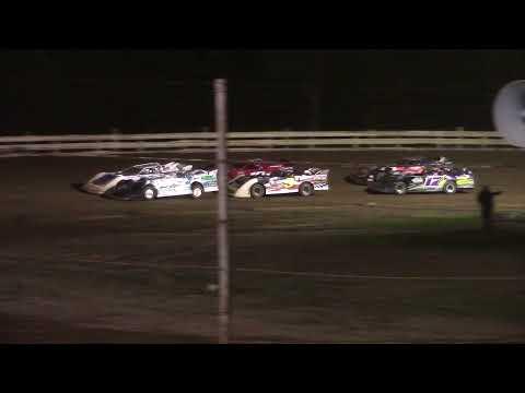 Hummingbird Speedway (7-31-21): Swanson Heavy Truck Repair Semi Late Model Feature - dirt track racing video image