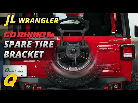 Go Rhino Spare Tire Relocation Bracket Review for Jeep Wrangler JL