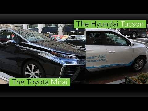Toyota and Hyundai Fuel Cell Electric Vehicles Join Energy Department Fleet