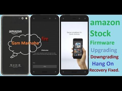 Amazon Fire Phone Flash With Stock Firmware - VidVui