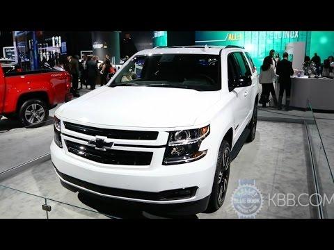 2018 Chevy Tahoe & Suburban RST - 2017 New York Auto Show