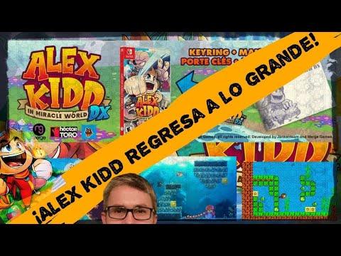 Mundo Switch: Alex Kidd In Miracle World DX (Merge Games) + Audio de Zosyan + Gameplay PC Steam