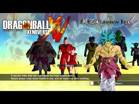 Dragon Ball Xenoverse - How To Make Broly SSGSS - CaC - default