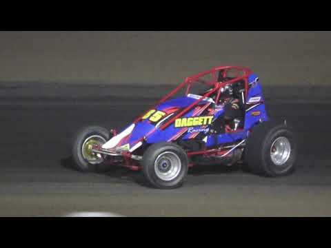 Michigan Traditional Sprints A-Feature at Crystal Motor Speedway, Michigan on 09-18-2021!! - dirt track racing video image