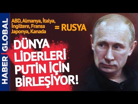 Merkel'den Biden'a… Dünya Liderleri Putin için Bugün Buluşuyor!