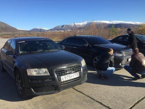 Camry 3.5 VS Audi A8 4.2. Шел 2018 год. - UCvEFLw5qXVqd98TAO0I6qpg