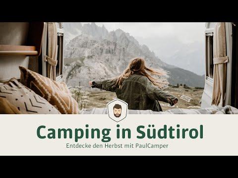 Camping in Südtirol 🚐🍂 Entdecke den Herbst mit PaulCamper!