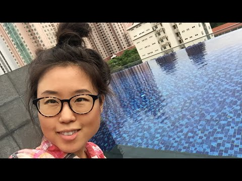 Spontaneous Q&A by the pool in Singapore