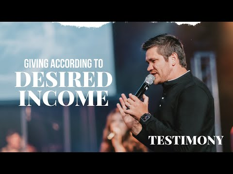 Giving According to Desired Income