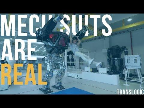 Driving An Actual Bipedal Mech Suit | Translogic 221 - UCkLbQpvXfOO18uYFjg7SkOA