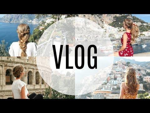 Italy Travel Diary: Amalfi Coast & Rome Vlog | Missy Sue