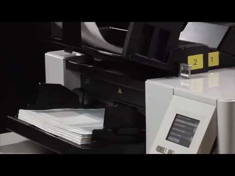 Controlled Dual Stacking Accessory for the Kodak i5800 scanner Preview
