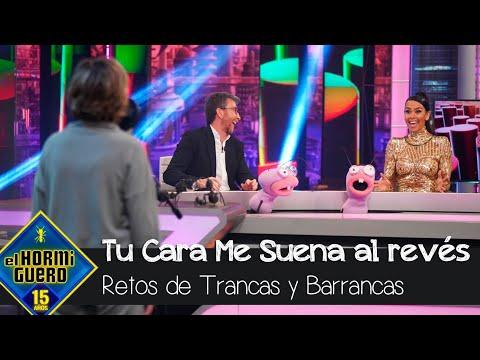 Cristina Pedroche alucina con las voces de 'Tu cara me suena al revés' – El Hormiguero