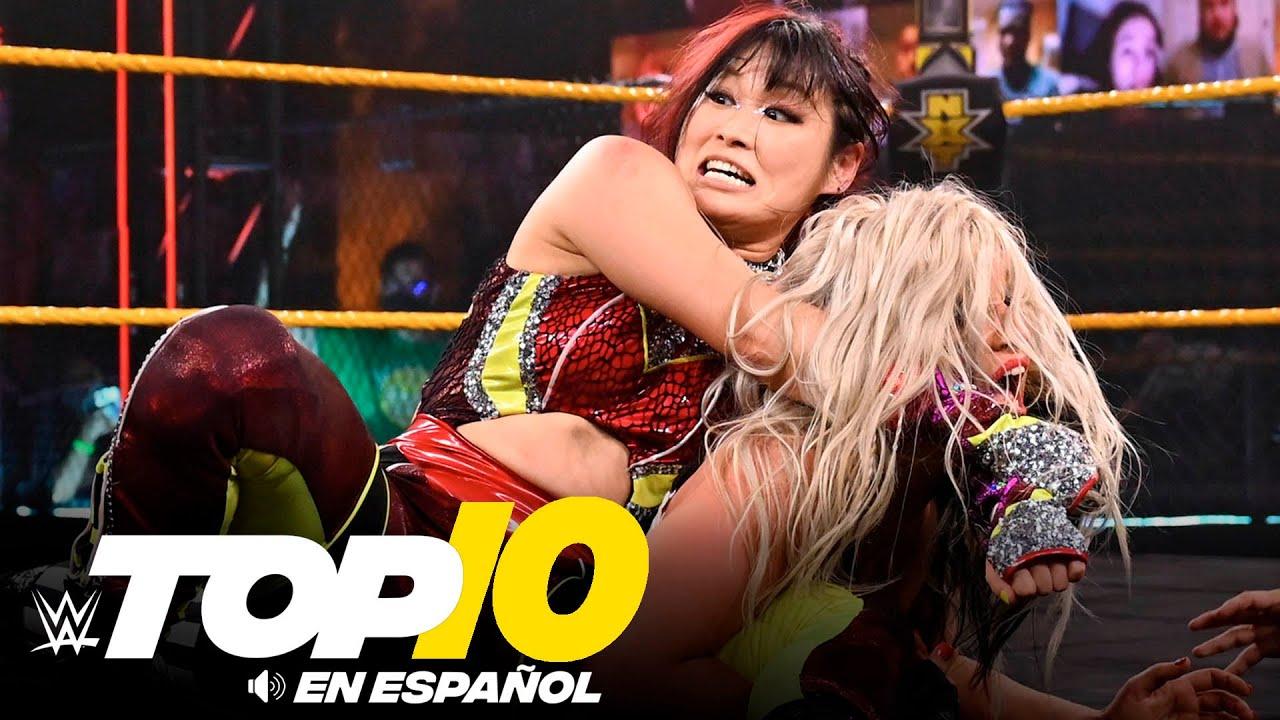 Top 10 Mejores Momentos de NXT: WWE Top 10, Mar 10, 2021