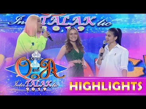 It's Showtime Miss Q & A: Anne introduces one of the