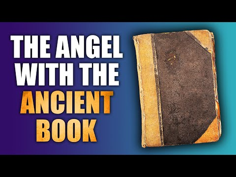 An Angel Visited Me Holding an Ancient Book