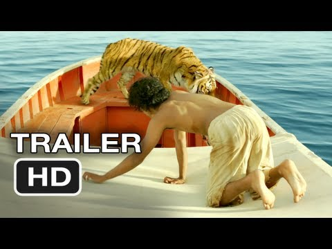 Life of Pi Official Trailer #1 (2012) Ang Lee Movie HD - UCi8e0iOVk1fEOogdfu4YgfA