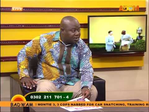 Montie Trio Freed - Asem Kesee on Adom TV(23-8-16)