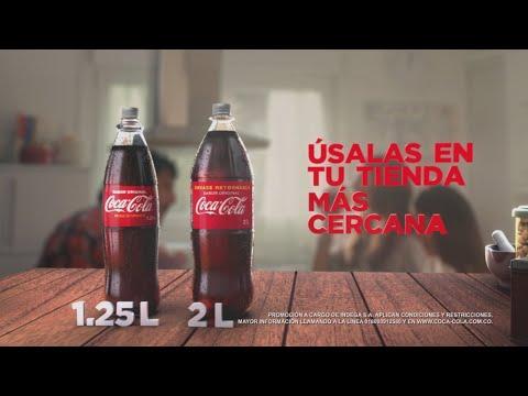 Busca tus Tapas Plateadas de Coca-Cola Sabor Original.