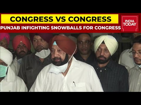 Amarinder Singh Quits Congress; Sidhu-Channi Resolve Differences; CWC Meet Soon, Says Congress