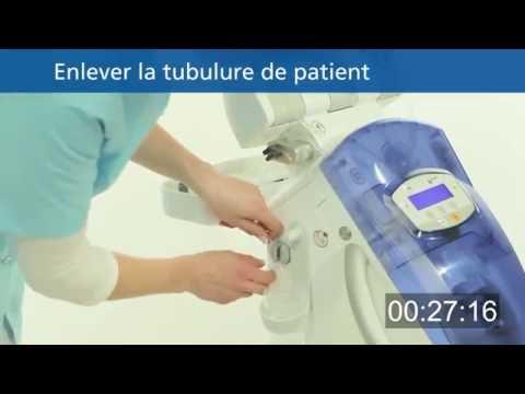 Remplacement de la tubulure de patient en 30 secondes