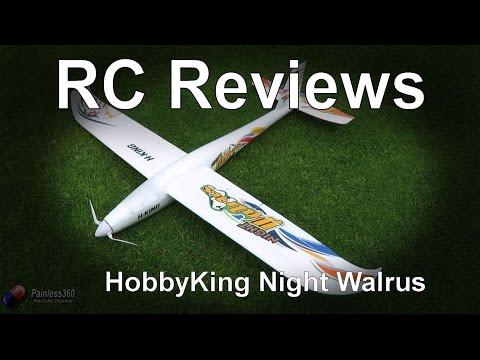 RC Reviews: HobbyKing Night Walrus Plane - UCp1vASX-fg959vRc1xowqpw