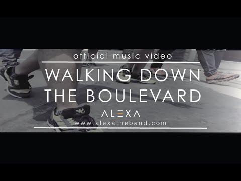 Walking Down the Boulevard