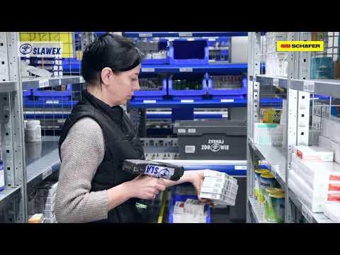 Slawex: End-to-end verification in pharma logistics | SSI SCHAEFER