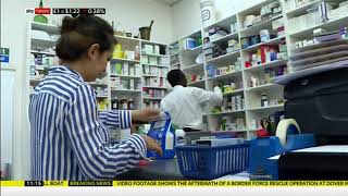 Four-in-one pill prevents third of heart problems (Global) - Sky News - 23rd August 2019