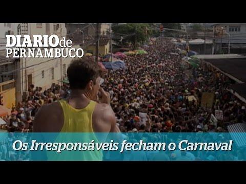 Os Irrespons�veis de �gua Fria fecham o Carnaval
