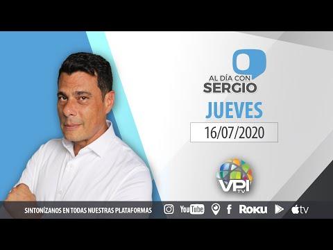 EN VIVO - Al Día con Sergio Novelli - Jueves 16 de Julio