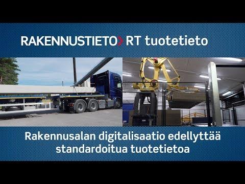 RT tuotetieto on kanava tuoteteollisuudelle ja tukkukaupalle digitalisoida ja jakaa tuotetiedot alan ammattilaisten palveluihin.  Rakennustiedon yhteistyössä alan keskeisten toimijoiden kanssa kehittämä RT-tuotetietokanta mahdollistaa rakennushankkeiden valtavan tuotetietomäärän digitaalisen hallinnan ja koko ketjun toiminnan tehostamisen.   Eri osapuolet saavat tarvitsemansa tiedot suoraan reaaliaikaisesta tietokannasta sen sijaan että ne kokoavat ja lähettävät toisilleen yhä uudelleen dokumentteja, joiden tiedot täytyy aina erikseen päivittää.   Koko alan kannalta merkittävä kehitysaskel on rakennustuotenumeron käyttöönotto, jonka avulla tuotetiedot voidaan kohdentaa esimerkiksi tietomalleissa yksilöidysti. Rakenteisen tiedonhallinnan ansiosta tarvittavat tiedot on helppo hakea myöhemminkin rakennuksen ylläpitoa varten koko rakennuksen elinkaaren ajan.