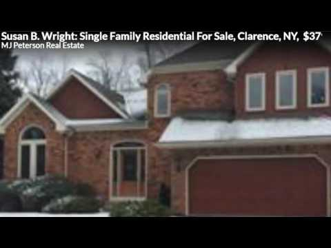 Susan B. Wright: Single Family Residential For Sale, Clarence, NY,  $379900