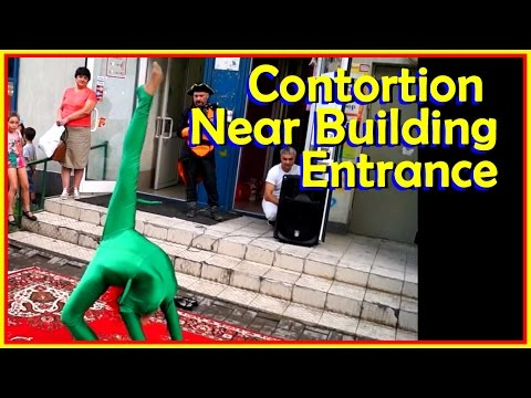 Contortion In Public: On A Provincial Town Street