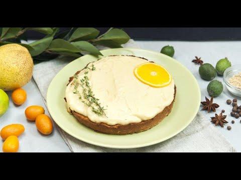 Безглютеновый бисквит с апельсиновым кремом | Исключительная еда