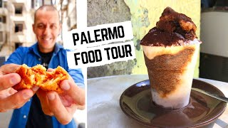SICILY FOOD TOUR | Street food in Italy | Palermo street food and traditional SICILIAN food
