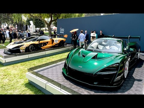 McLaren stars at Monterey Car Week 2018