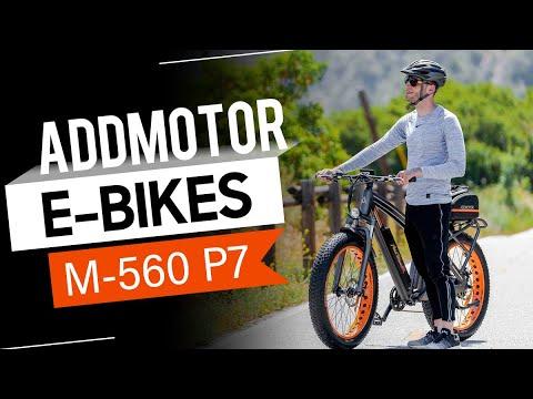 MOTAN M-560 P7 Fat E-Bike -- Addmotor Electric Mountain Bike