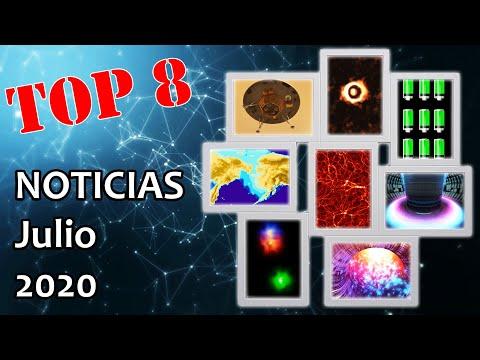 Top 8 Noticias científicas julio 2020