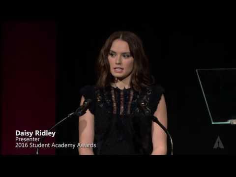 Daisy Ridley Presents Foreign Documentary Medalists: 2016 Student Academy Awards